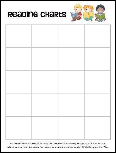 Customizable homework chart