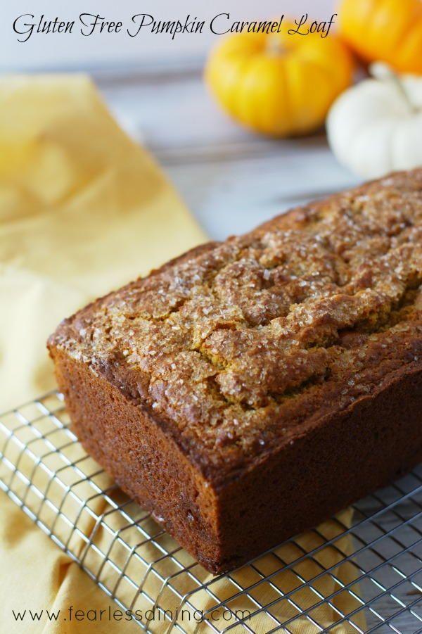 Pumpkin Caramel Loaf | FaveGlutenFreeRecipes.com