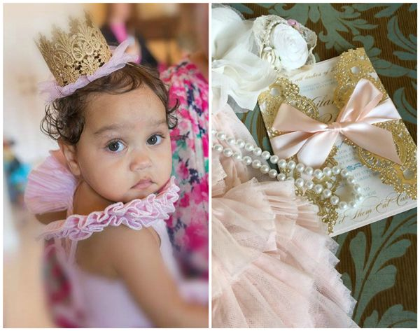 Marie Antoinette 1st Birthday Party Birthdays - invitation for 1st birthday party girl