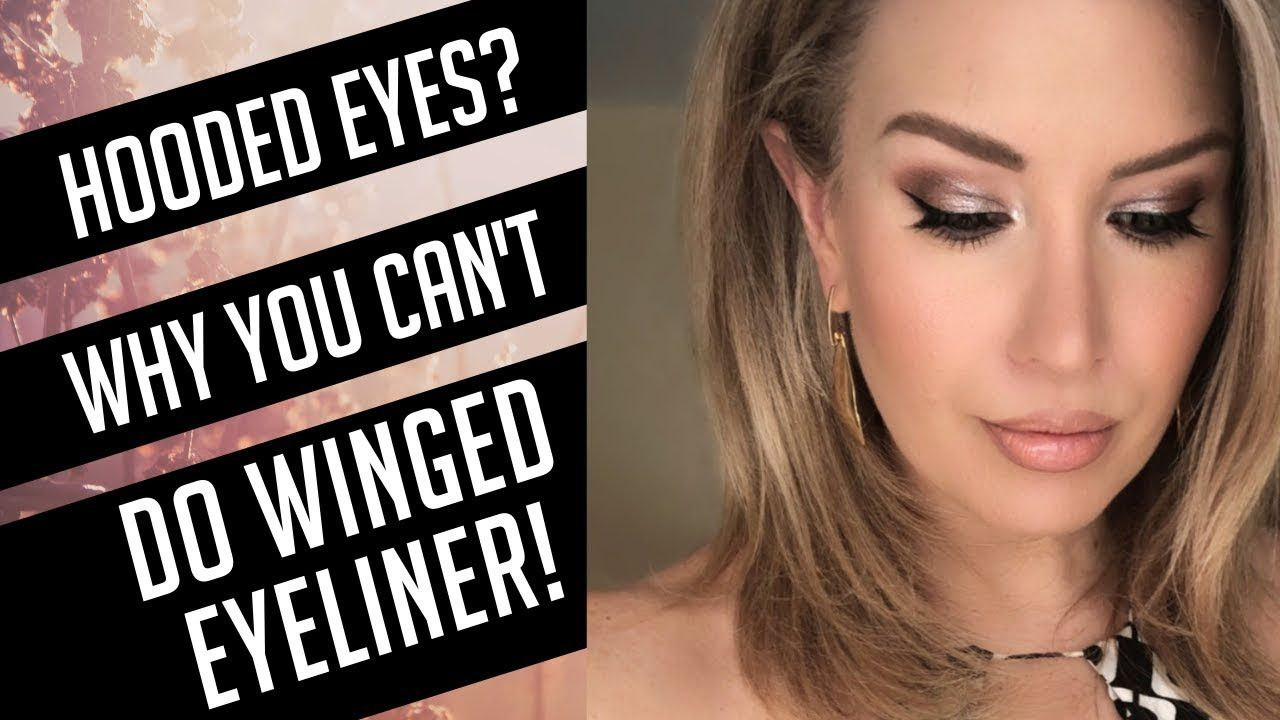 MUST SEE WINGED EYELINER TUTORIAL FOR HOODED, DROOPY EYES