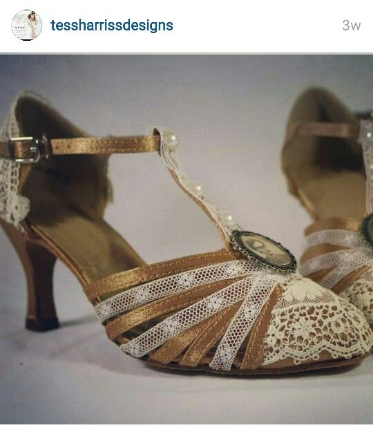 Gatsby Style Wedding Shoes