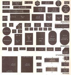 floor plan furniture templates printable