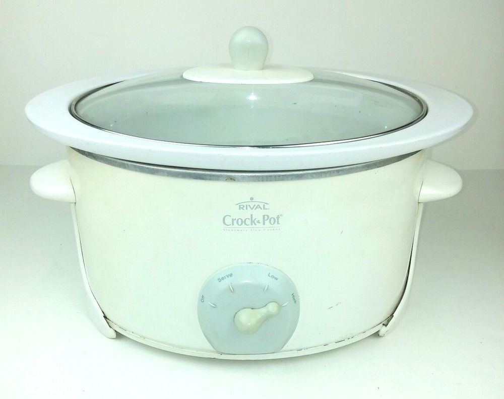 Rival Crock Pot 5065 Slow Cooker White