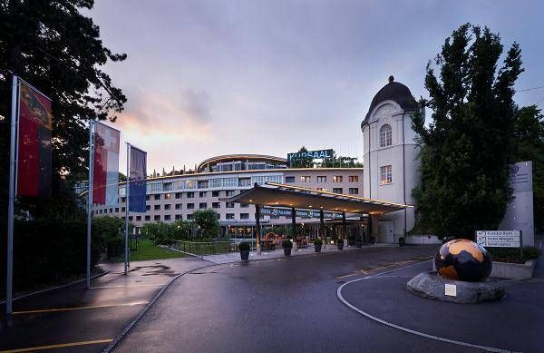 Kuraal Hotel Bern Switzerland Intl Dinner here Lodging
