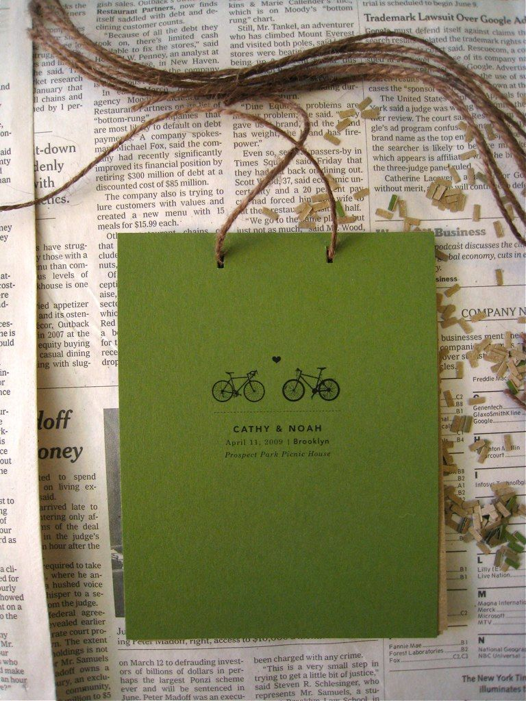wedding programs idea