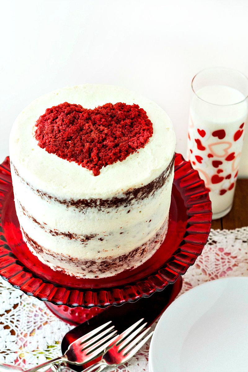 This Traditional Red Velvet Cake With Ermine Frosting Is The
