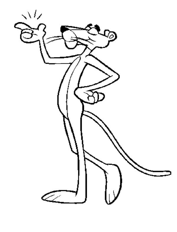 Pink Panther Piece Of Cake Coloring Pages Bulk Color Pink Panther Cartoon Coloring Pages Pink Panter
