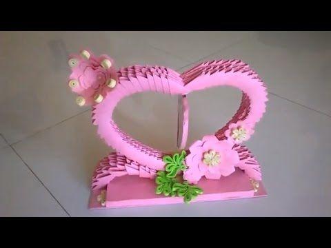 3d origami showpiece