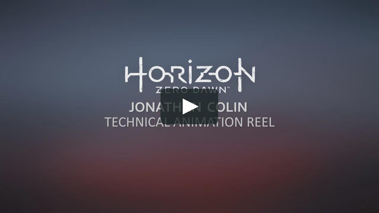 Horizon Zero Dawn Technical Reel Horizon Zero Dawn Animation Tutorial Dawn