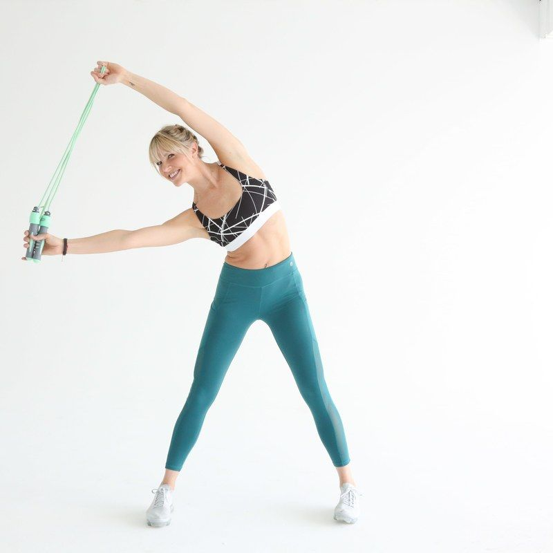 Amanda Kloots How To Measure Jump Rope