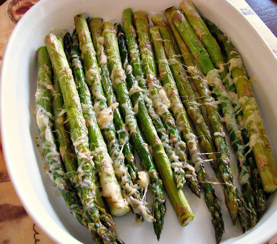 Asparagus is my all-time favorite spring vegetable. It's one of the healthiest vegetables there is, with less than four calories per serving and high in vitamins including folic acid and potassium...