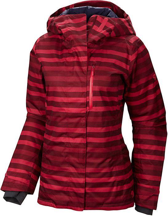 Mountain Hardwear Barnsie Print Jacket - Women's Ski Jacket - Coat -  Outerwear - 2014 -