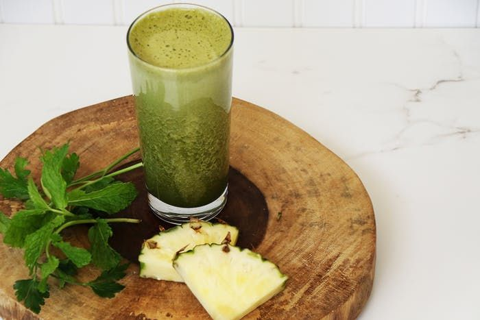 alkalizing mint  recipe  pineapple smoothie recipes