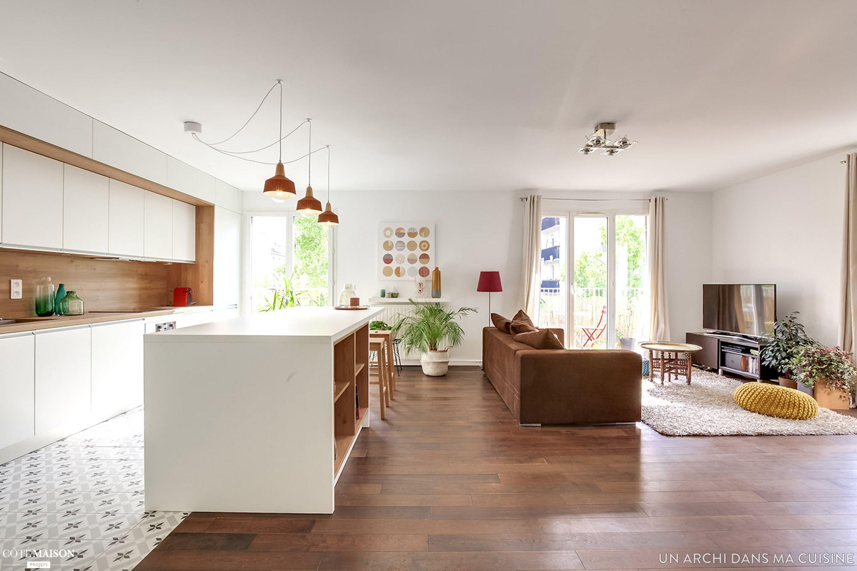 Création d\'une cuisine ouverte, Un Archi Dans Ma Cuisine ...