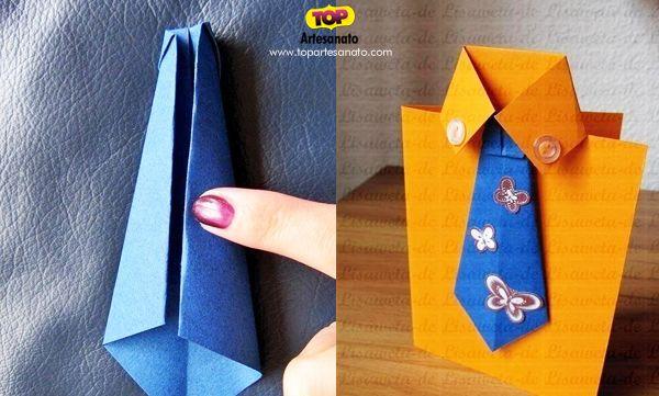 Artesanato Dia Dos Pais Passo A Passo ~ {Artesanato para Dia dos Pais} Como fazer cartões para o Dia dos Pais Fazendo cartões, Como