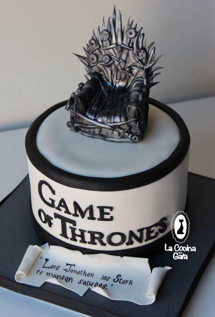 Tarta Game Of Trones Bizcocho De Chocolate Relleno De Swissmeringue