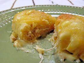 Aunt Peg's Recipe Box: Chicken Croissant Roll-ups