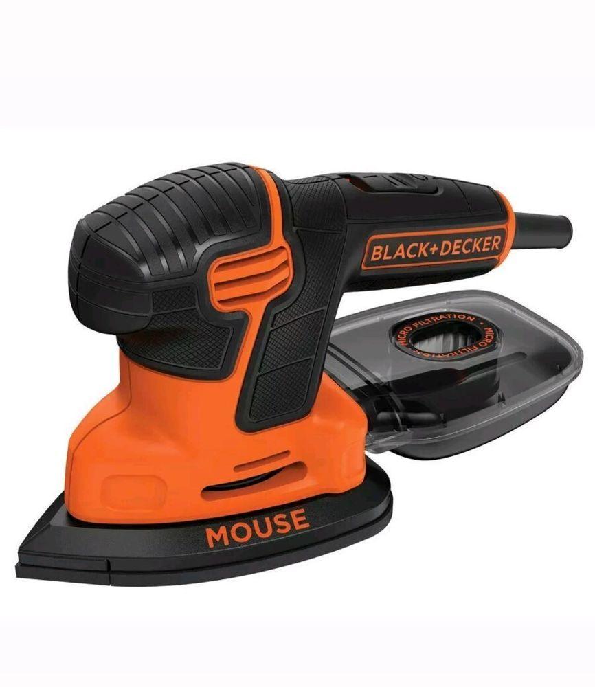 Blackdecker bdems600 mouse detail sander home garden
