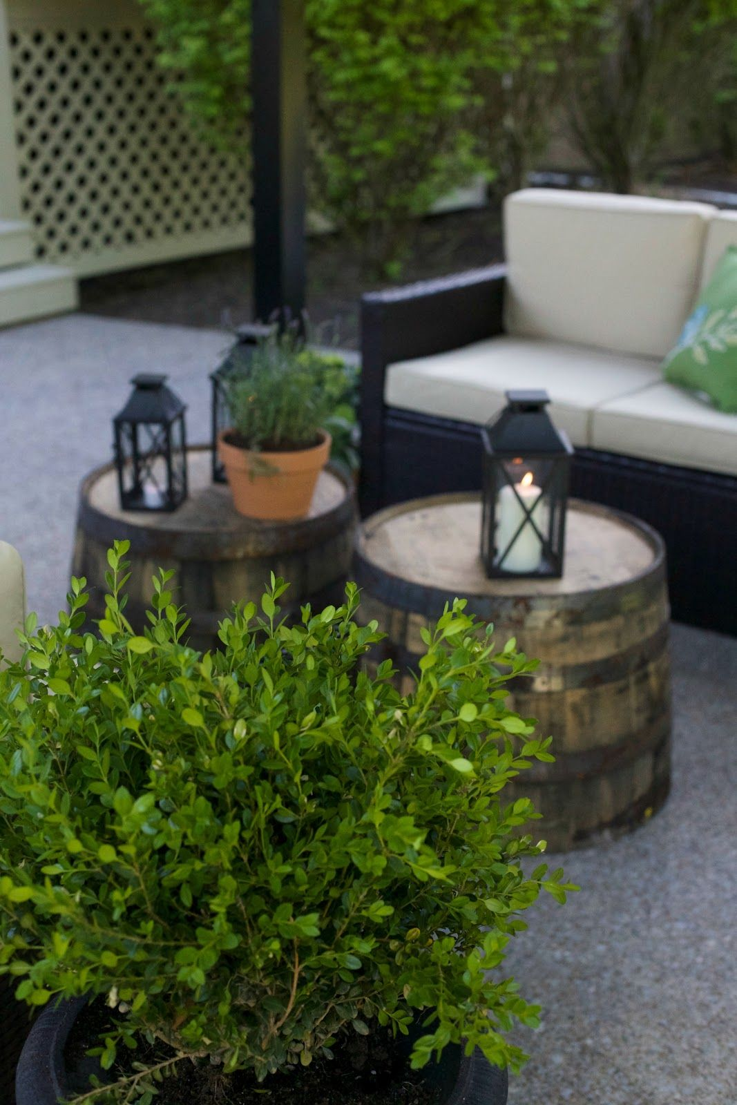 Lowe's Spring Makeover Reveal | Outdoor living patios ... on Lowes Outdoor Living id=38318