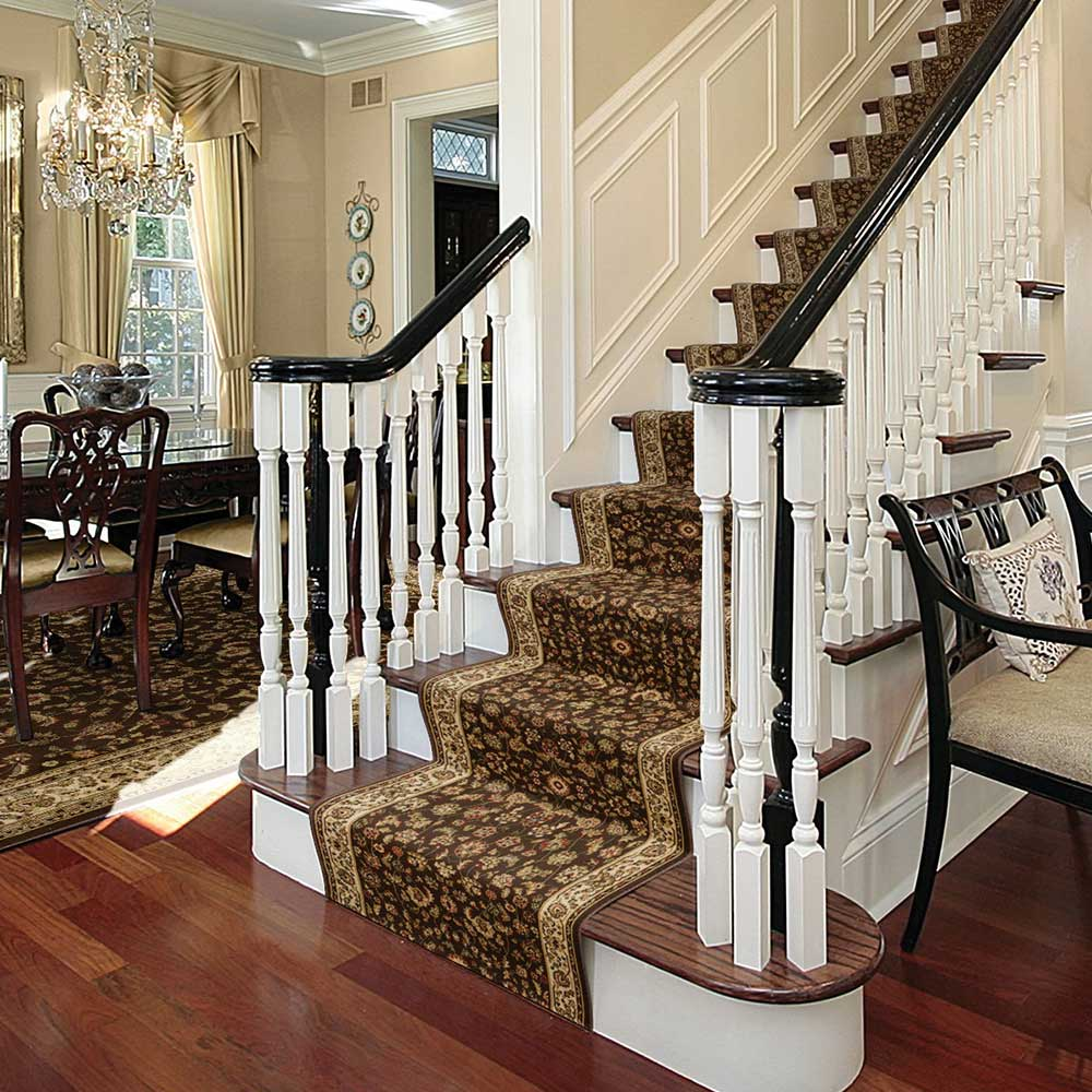 While knowing how to install a stair runner might seem