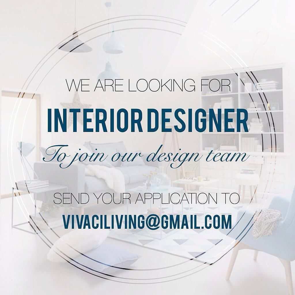 Wonderful Vivaci Living Is Currently Looking For Interior Designer To Be Based In  Alam Sutera Tangerang.