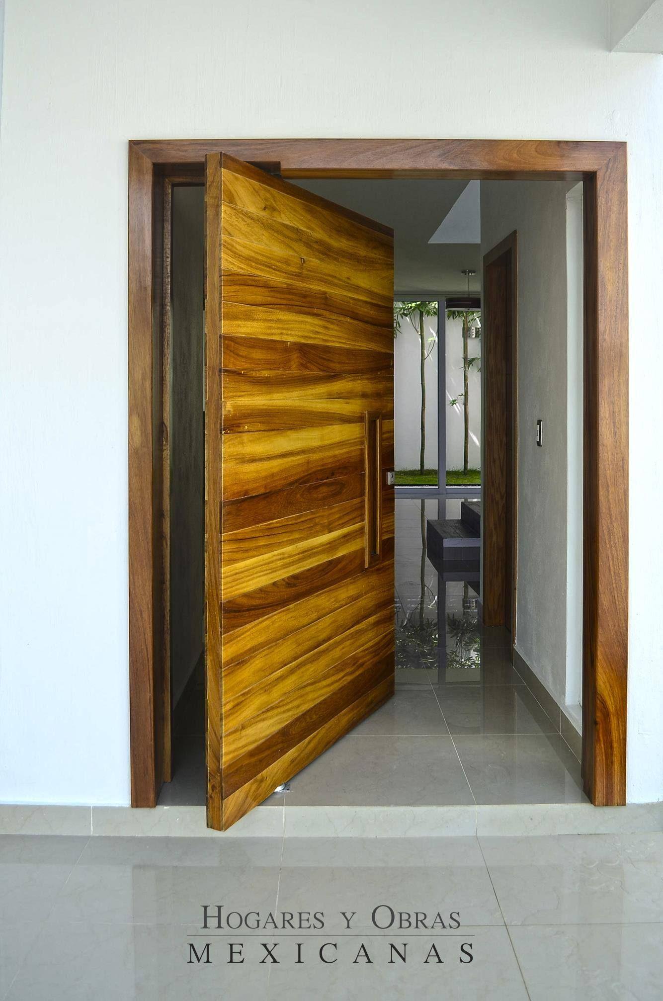 Puerta Parota Arquitectura Madera Casahabitaci N Coto  # Muebles Excell Aguascalientes