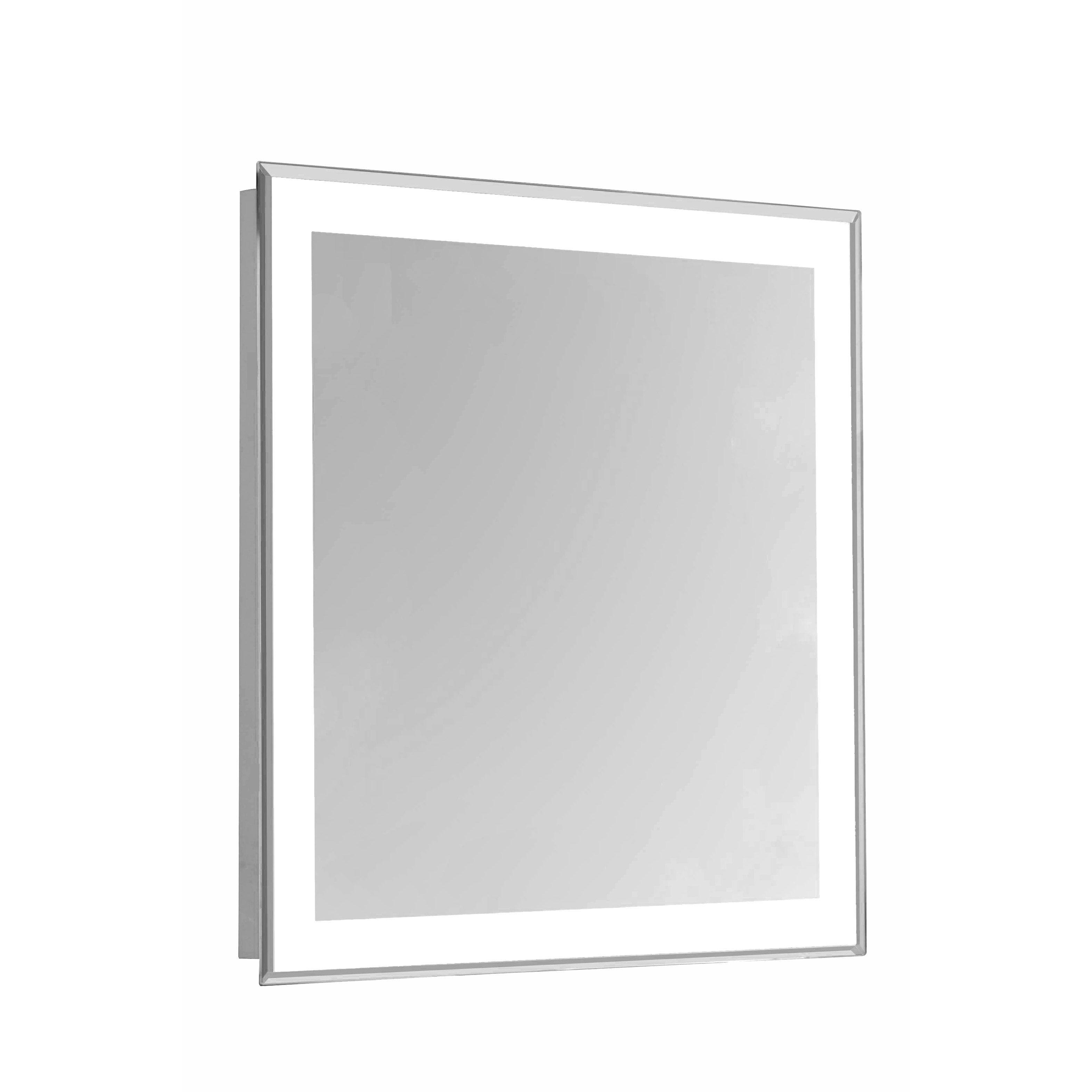 Elegant Lighting Nova 4 Sided Led Edge Electric Mirror 24 X 30
