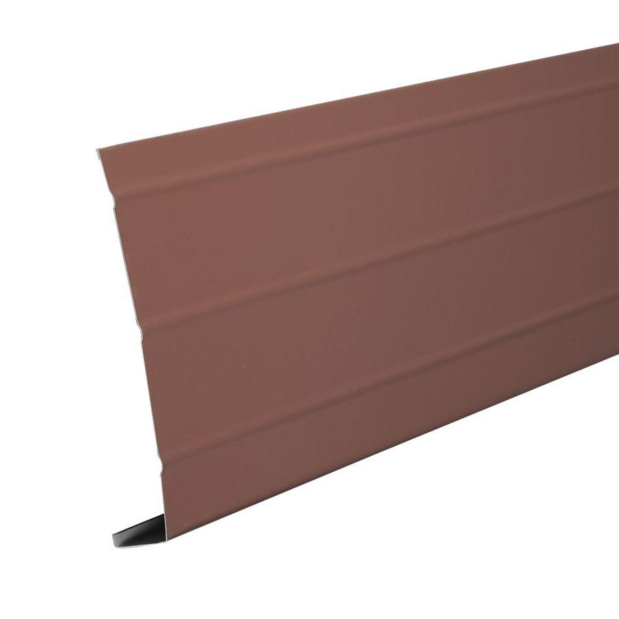 Amerimax 6 In X 12 Ft Brown Smooth Aluminum Fascia Fascia Aluminum Outdoor Storage Box