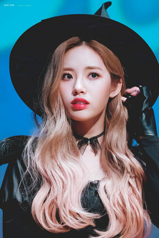 Jiwon Fromis9 Kpop Coreana Fofa Fofa Bruxas