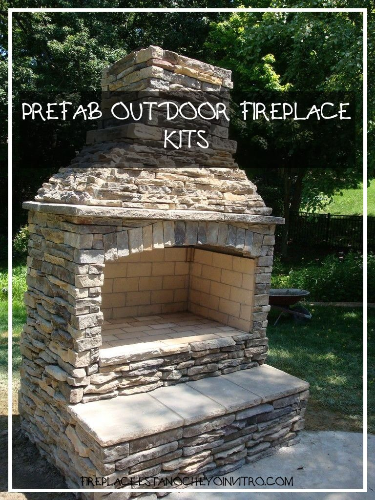 50 Awesome Prefab Outdoor Fireplace Kits 50 Awesome Prefab Outdoor Fireplace Kits In 2020 Outdoor Fireplace Kits Outdoor Fireplace Outdoor Stone Fireplaces