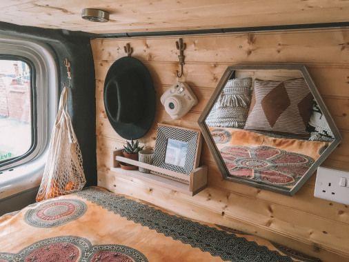 Vauxhall Vivaro Short Wheel Base Van Life Camper Conversion Bohemian Decor