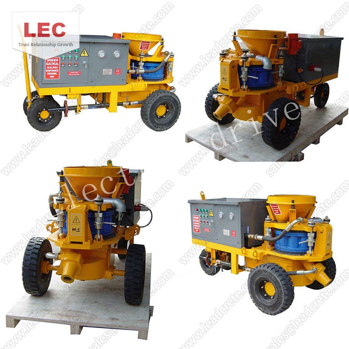 Shotcrete machine is a universal concrete spraying machine