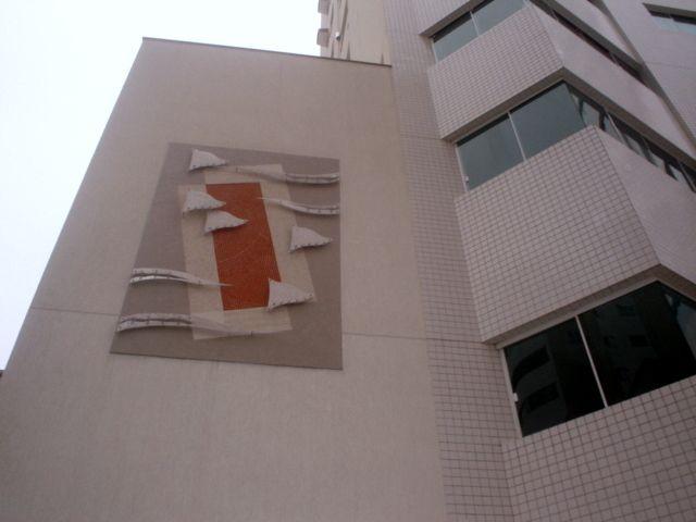 Obra by Reiner Wolff - Mosaico - Alumínio - Cabo de aço