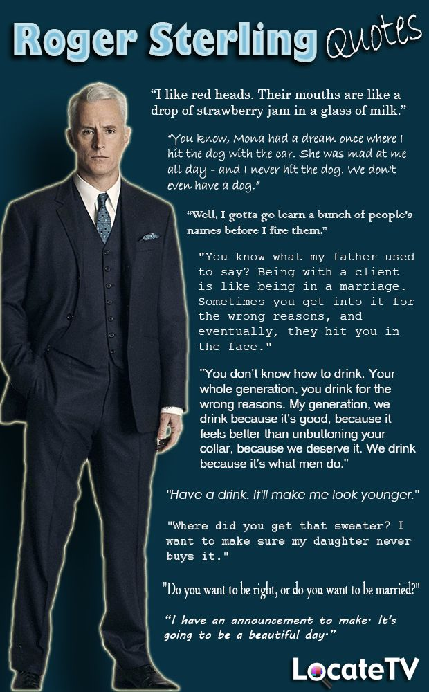roger sterling office art. Roger Sterling Quotes From #MadMen. Gotta Say, Miss The Show A Lot! Office Art