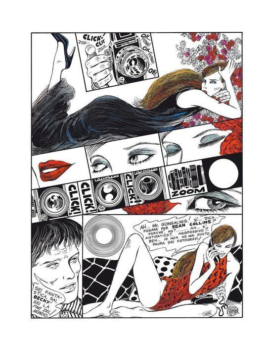 Oltre 50 opere del fumettista nella prima personale americana  (ANSA)