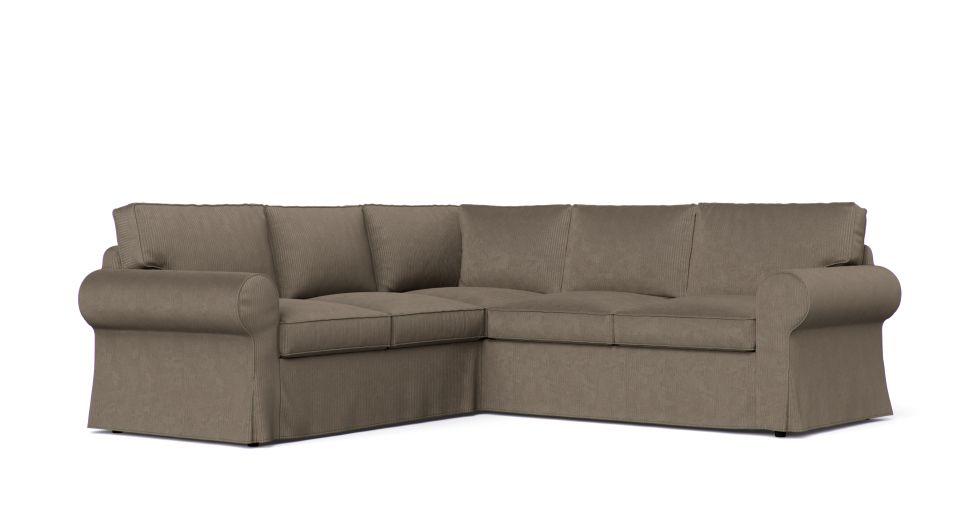 Ikea Ektorp Corner Sofa Cover 2 2 With Images Corner Sofa Covers Ektorp Sofa Cover Sofa Covers