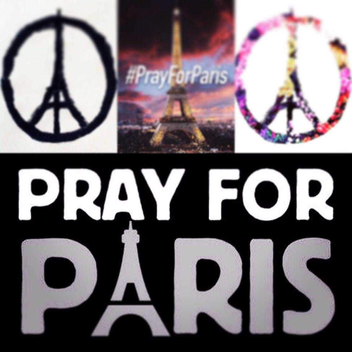 #PrayForParis ❤️
