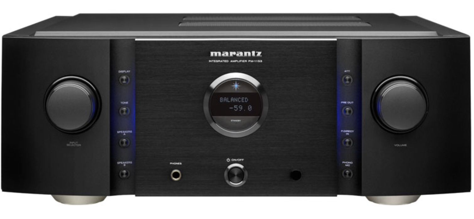 Marantz PM11S3 integrated amplifier.