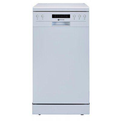 White Knight DW1045WA 10 Setting Slimline Dishwasher in