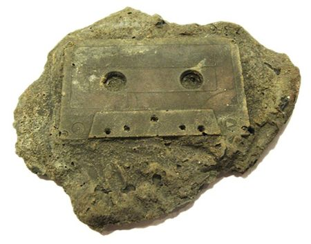 Modern Fossil - Asportatio Acroamatis, 2009 (commonly referred to as the Cassette Tape) by Christopher Locke
