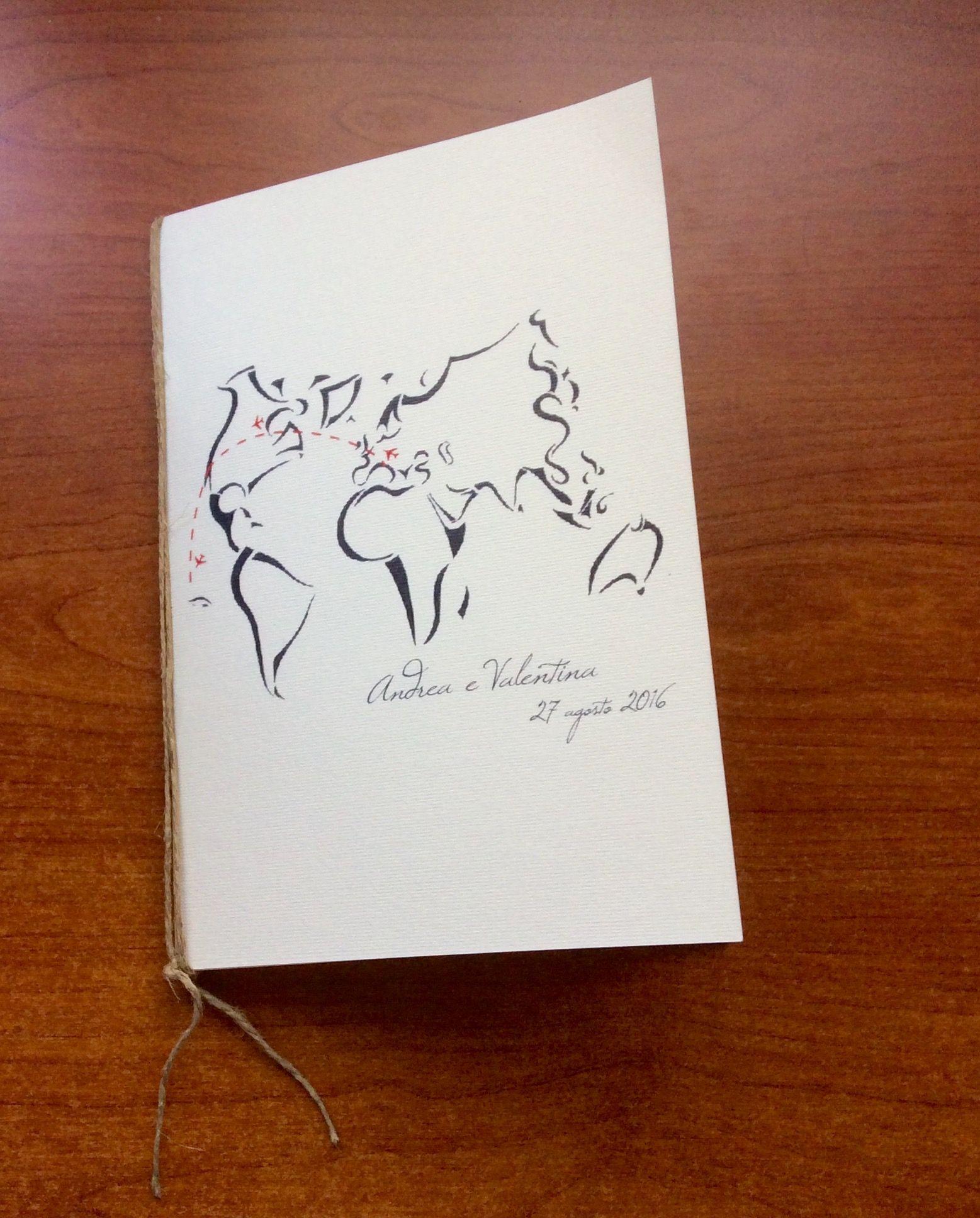 Album di viaggio con grafica personalizzata #honeymoon #wedding #spago