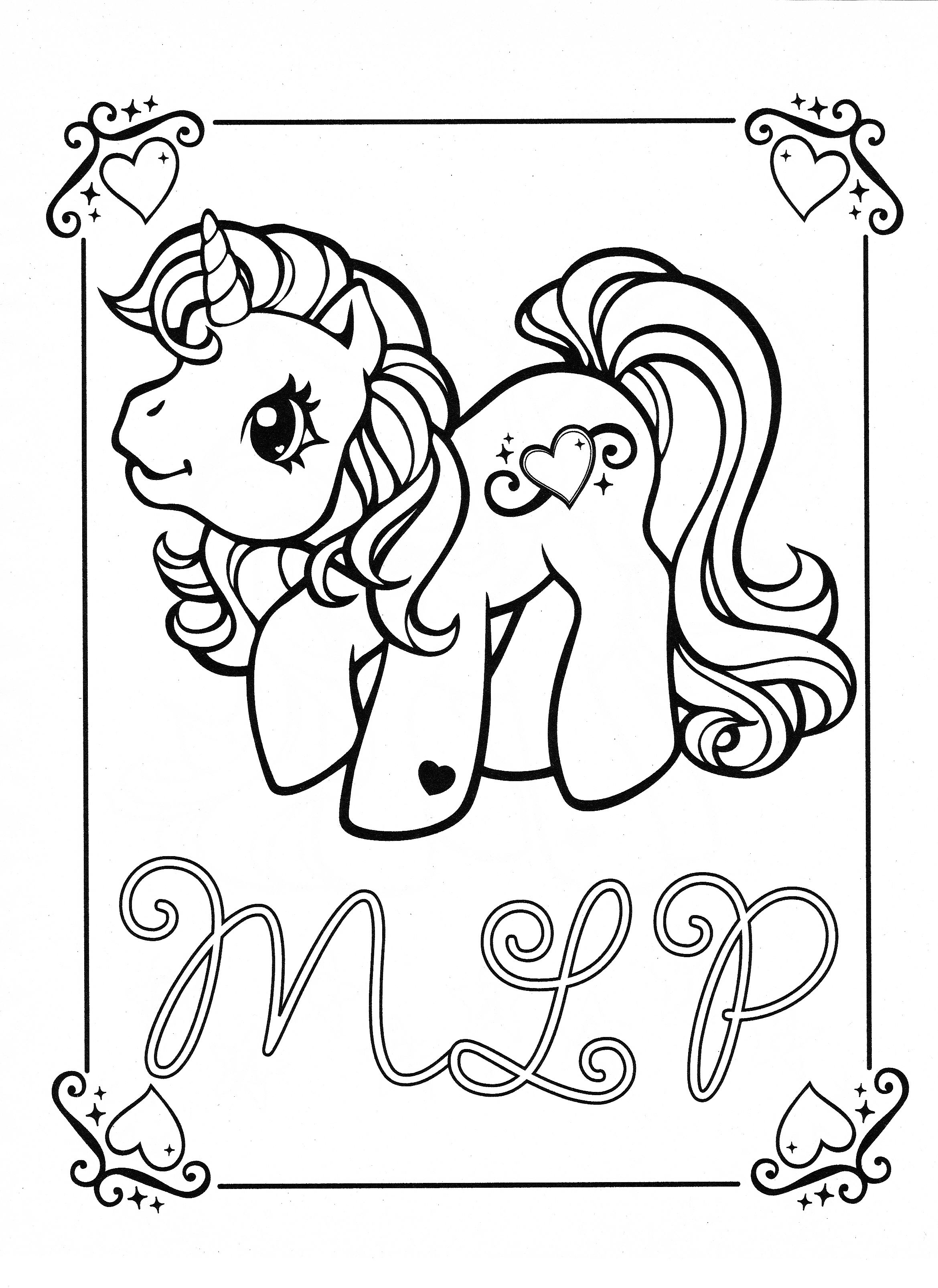 My Little Pony Coloring Pages Printables Image By Chalane