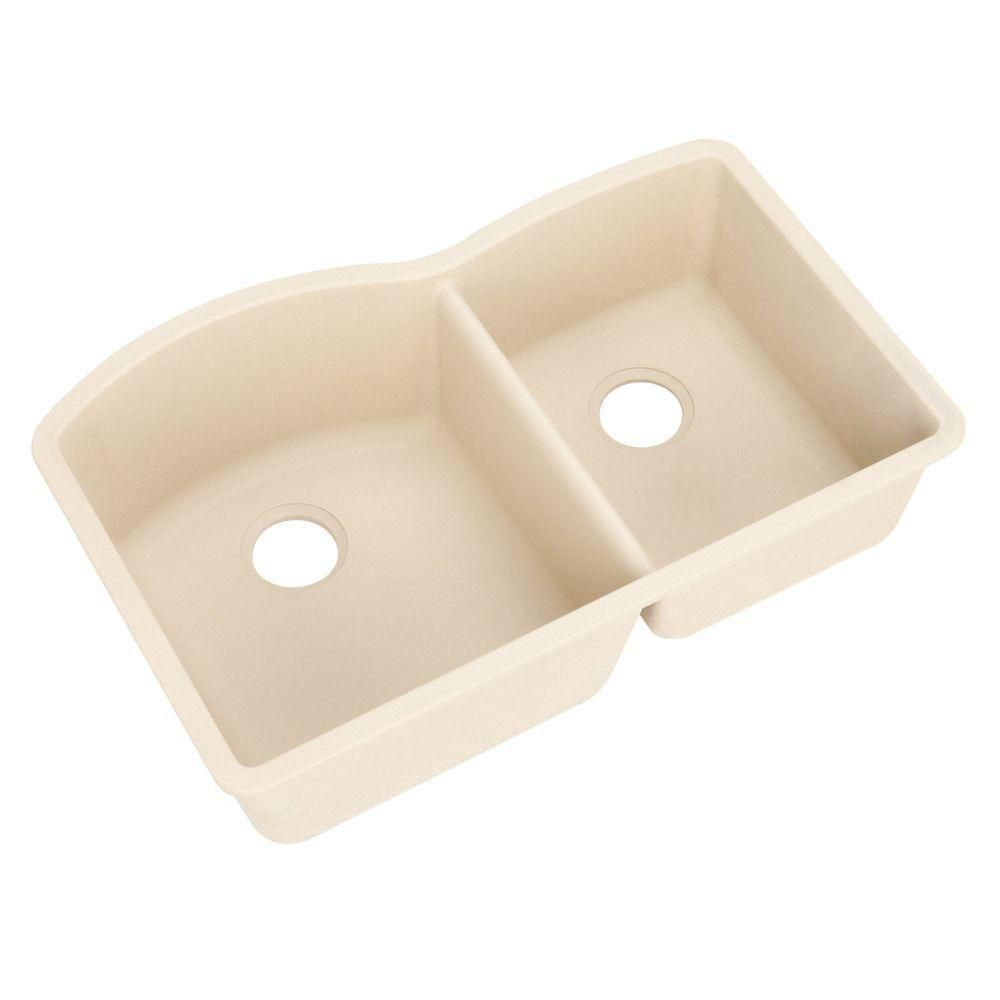 Blanco Diamond Undermount Composite 32x19x9 5 0 Hole Double Bowl