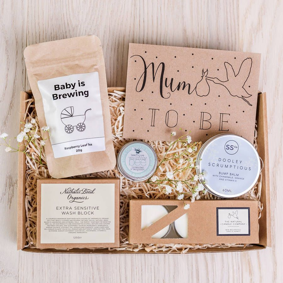 Baby Shower Present Ideas For Mum: 'Mum To Be' Letterbox Gift Set
