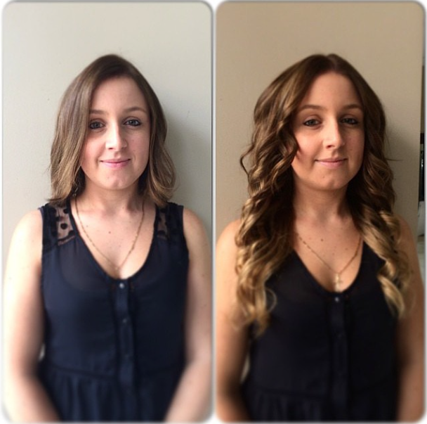 Check Out This Beautiful Cinderella Hair Extensions Makeover From