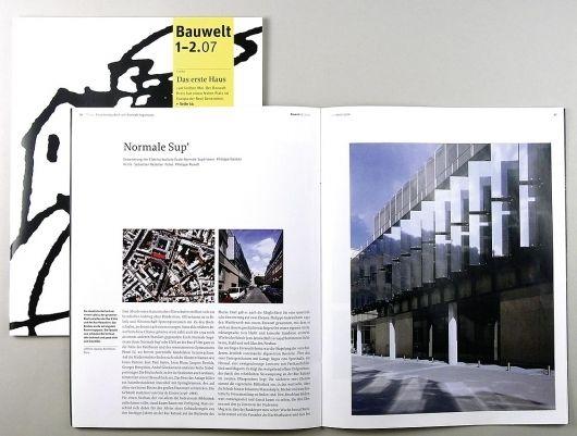 Bauwelt | Edenspiekermann