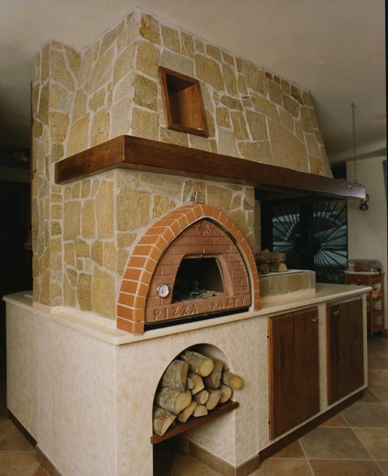 Lutilizzo dei comuni forni a legna da incasso o dei forni