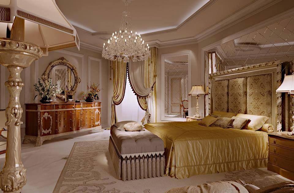 Luxury Bedroom With Rich Details Luxurious Bedrooms Elegant