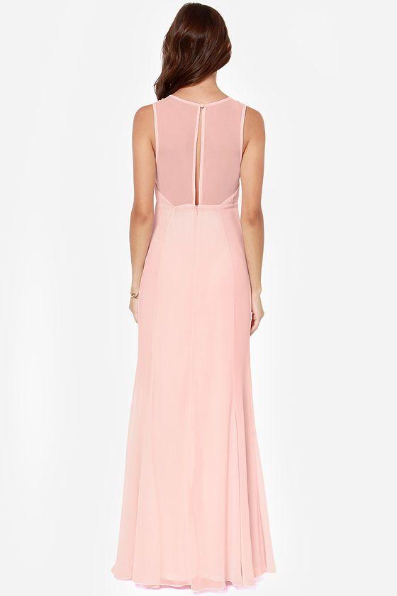 LULUS Exclusive Let's Dance Light Pink Maxi Dress at LuLus.com!