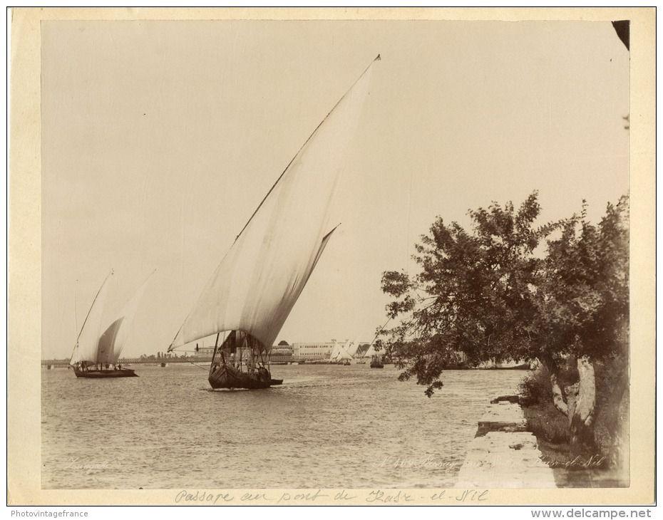 Zangaki. Egypte, Passage au Pont du Kasr El Nil